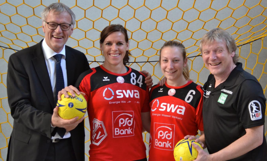 Stadtwerke Augsburg Sponsern Handball