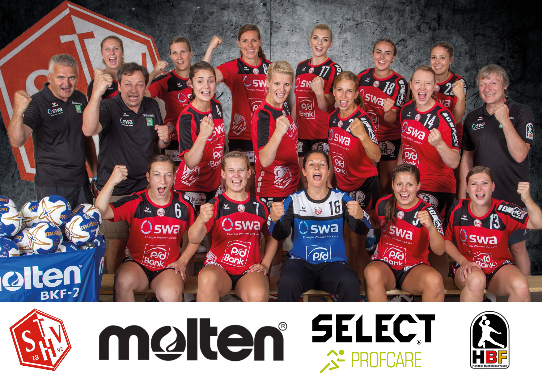 TSV Haunstetten Damen 2016-2017 - 2 hover