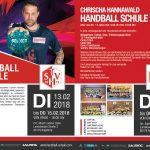 Chrischa Hannawald – Handballschule