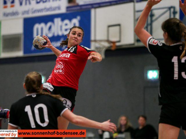 D1 Spielbericht: TSV Haunstetten – TuS Metzingen II