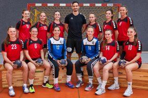 Deutschland, Augsburg, 13.07.2018, TSV Haunstetten Handball, Gruppenaufnahme