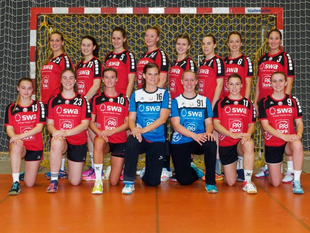 Damen 2 Handball Haunstetten Mannschaft