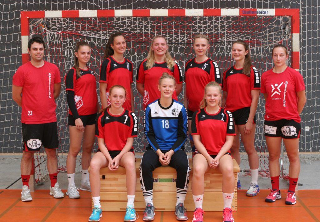 wb TSV Haunstetten weibliche B Jugend