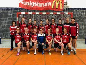 Damen 3 TSV Haunstetten 18 19