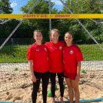 Beach-Handball EM mit Haunstetter Beteiligung